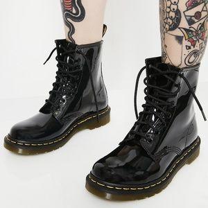 Dr Martens 1460W Patent Leather combat boots